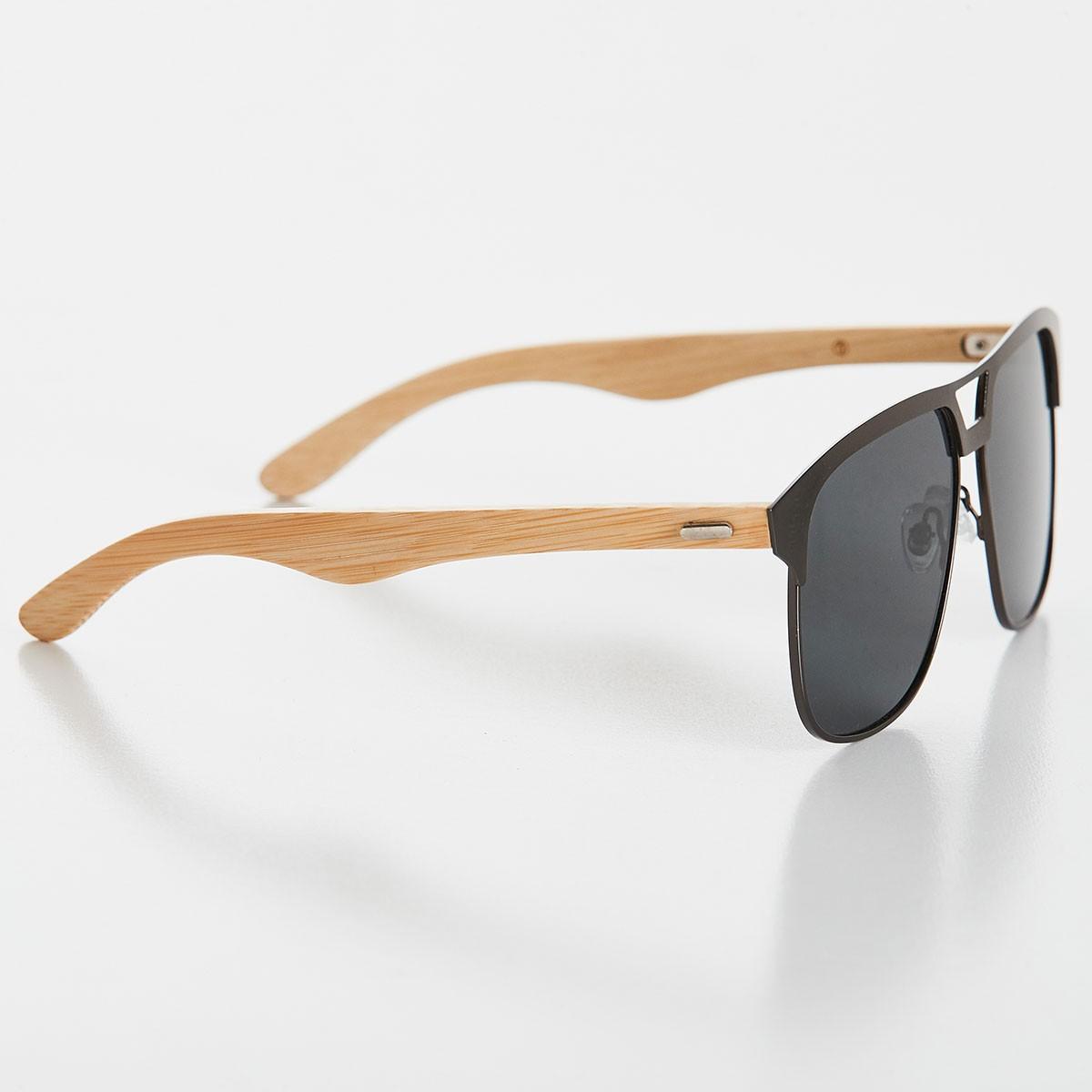 CAJUBRASIL Moda Fitness   Óculos de Sol Timber Cinza d21c78990d