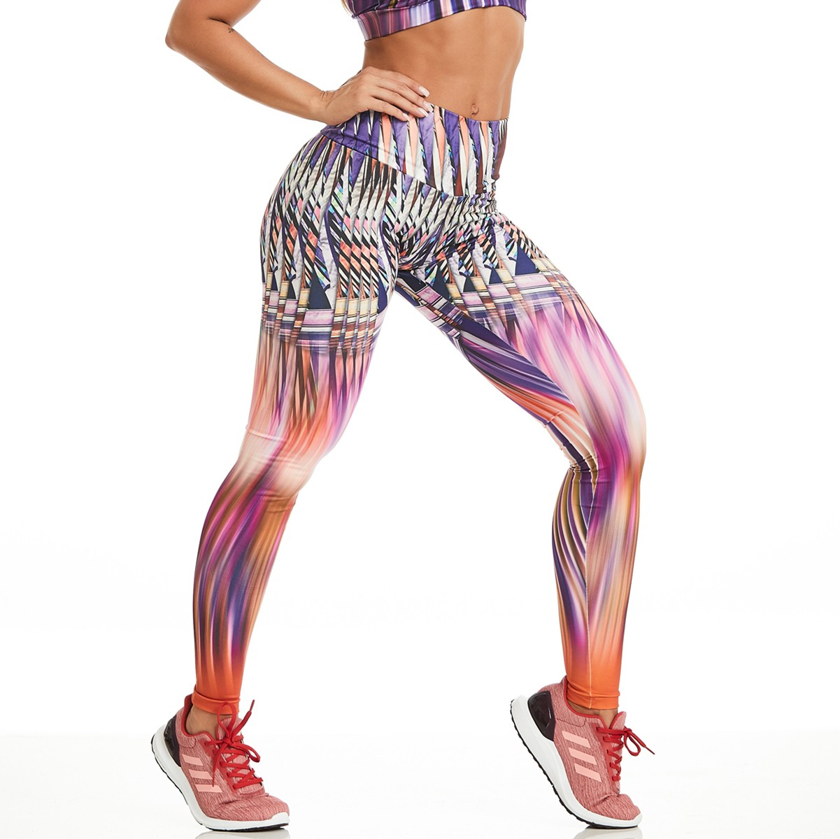 Legging Print Perfect Color Feather CAJUBRASIL Activewear