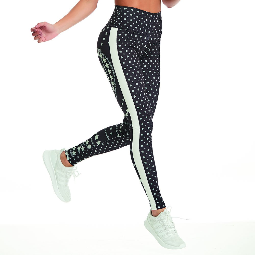 Legging Print Perfect Stars CAJUBRASIL Activewear