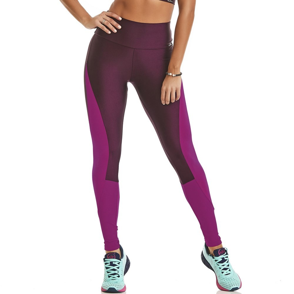 Legging Bright Roxa