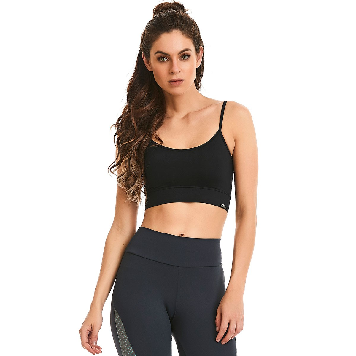 Top Lift Basic Preto CAJUBRASIL Activewear