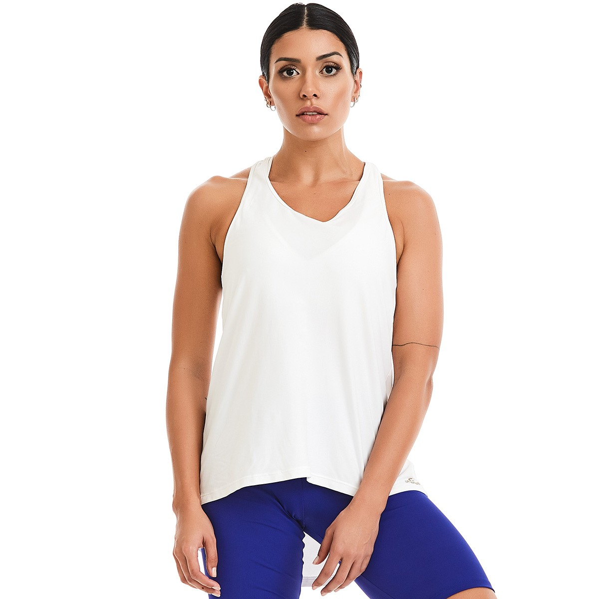 Bata Basic Branca CAJUBRASIL Activewear