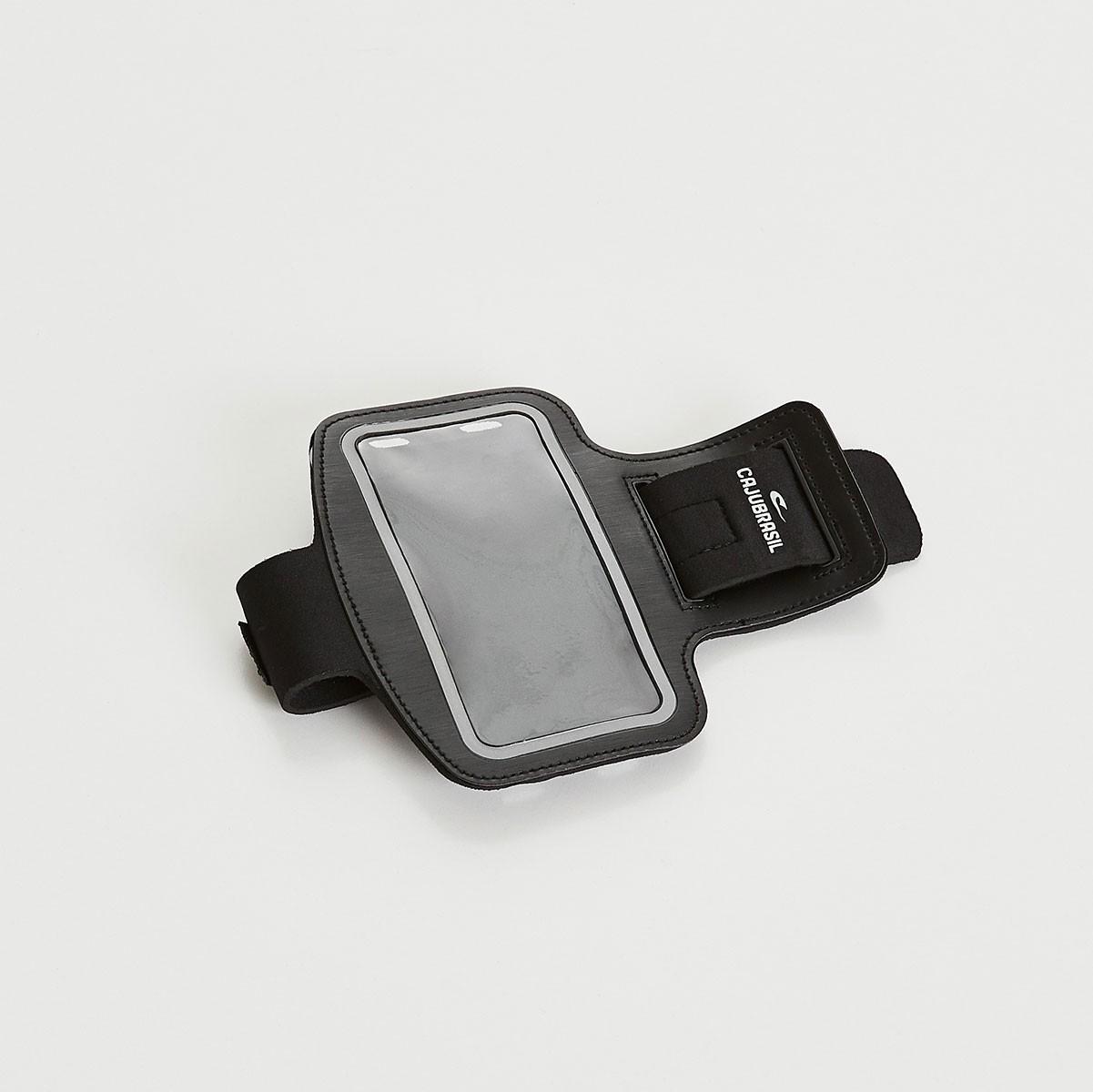 CAJUBRASIL Moda Fitness   Porta Celular Preto 142a95bbfe