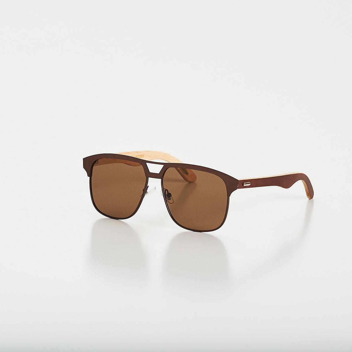 f577b2ebba48c Óculos de Sol Timber Marrom CAJUBRASIL Activewear