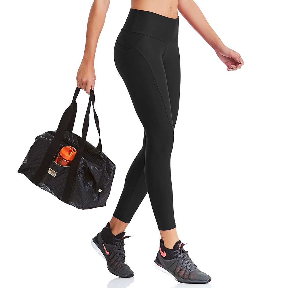 Legging UP Preto CAJUBRASIL Activewear