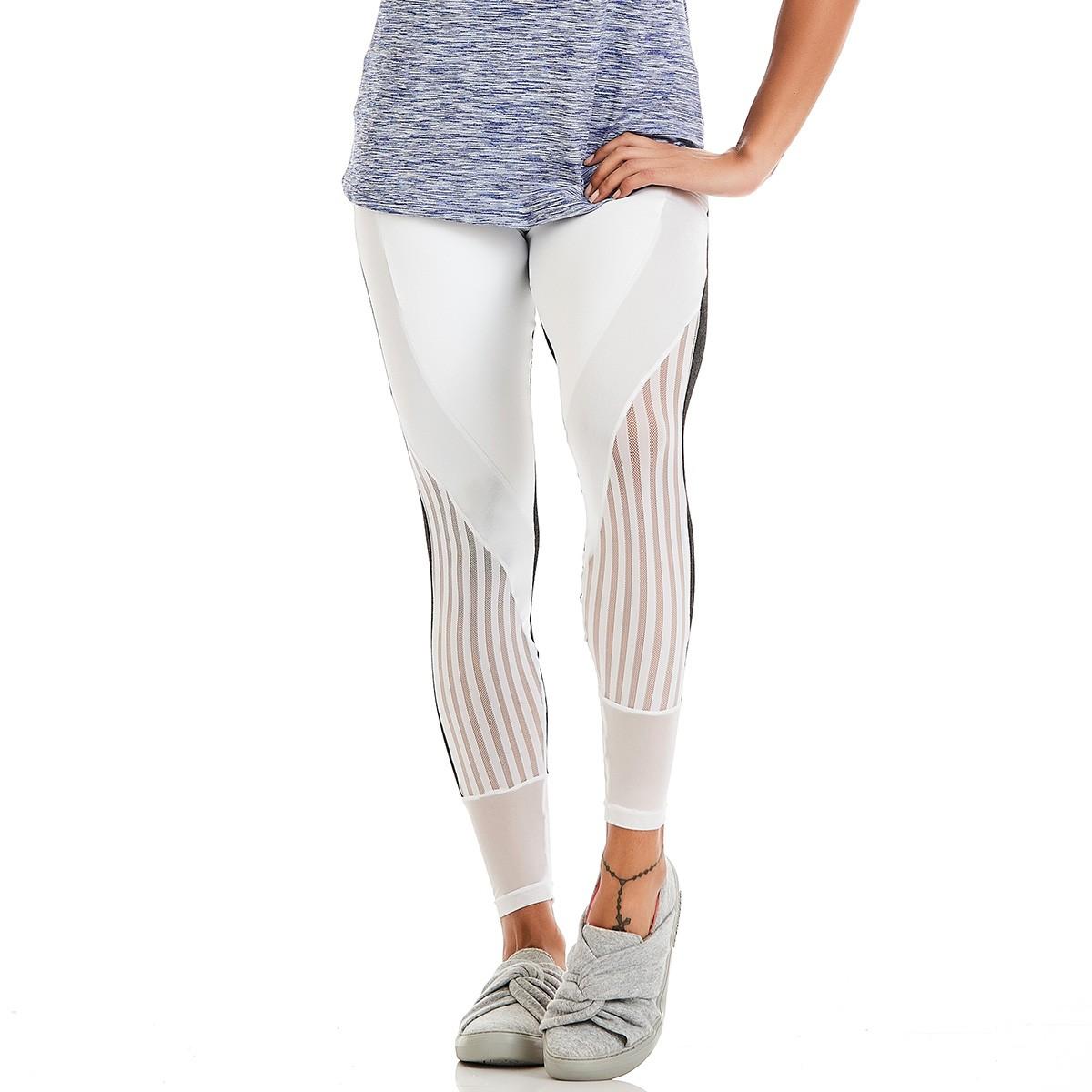 Legging Party Branco CAJUBRASIL Activewear
