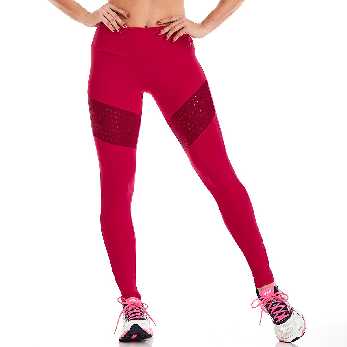 Legging Waterproof Laser Rosa CAJUBRASIL Activewear