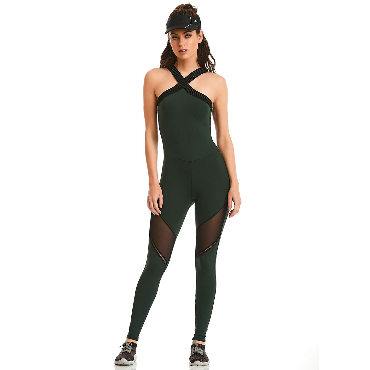 Macacão NZ Bojo Future Verde CAJUBRASIL Activewear
