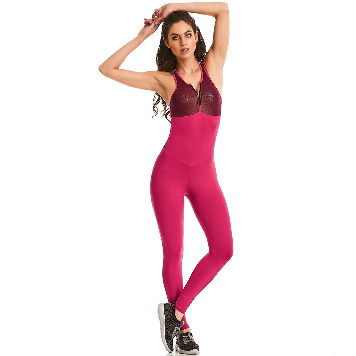 Macacão NZ Bojo Now Rosa CAJUBRASIL Asctivewear