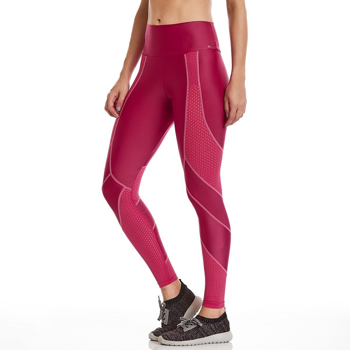 Legging Action Rosa CAJUBRASIL Activewear