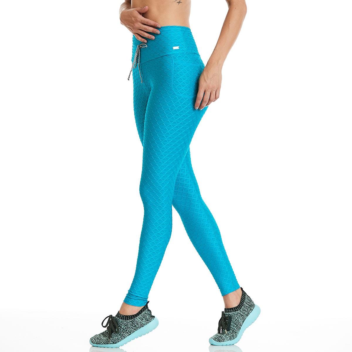 Legging Night Azul CAJUBRASIL Activewear