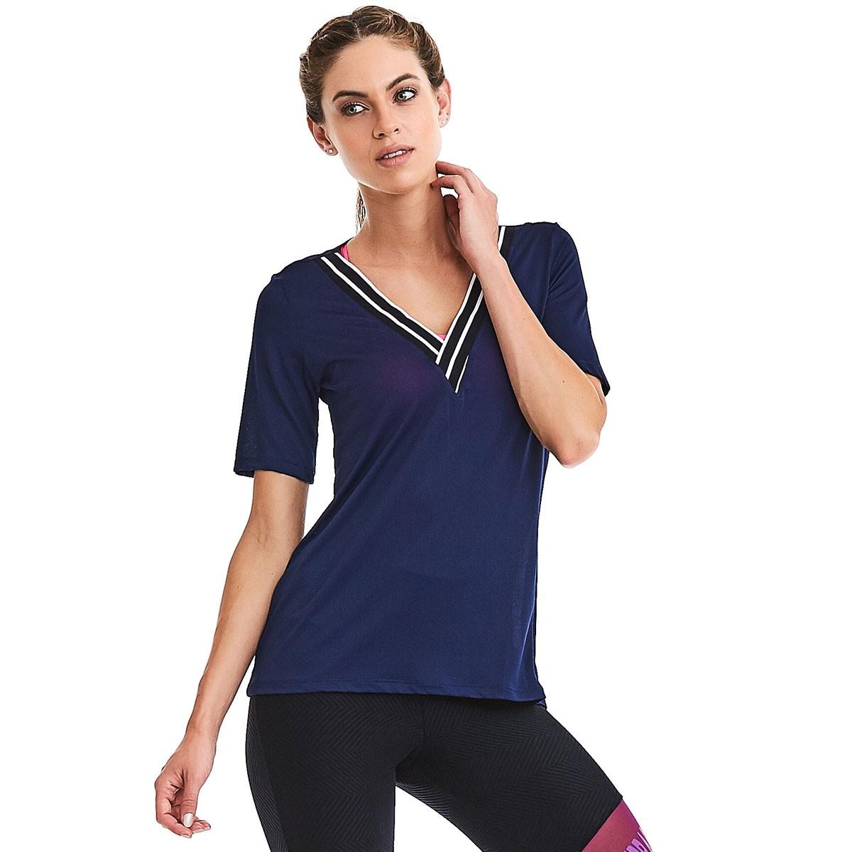 T-shirt Sport Azul CAJUBRASIL Activewear