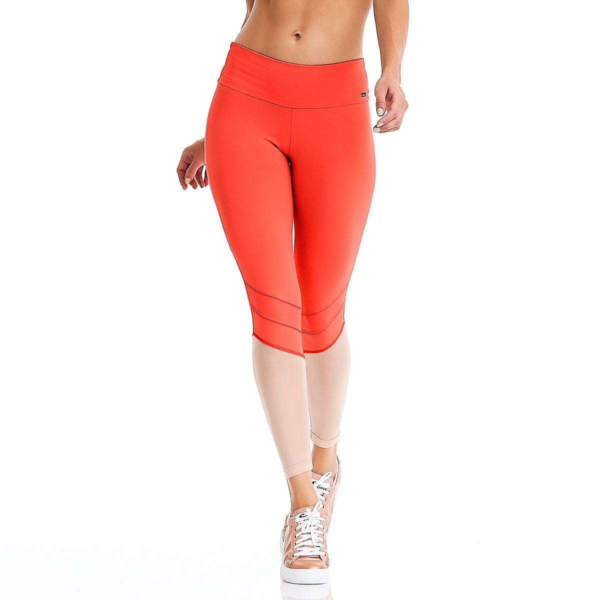 Legging Water Proof Laranja CAJUBRASIL Activewear
