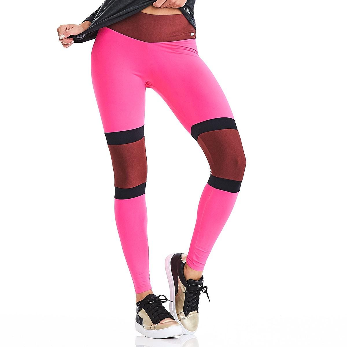 Legging Rock Surf Rosa CAJUBRASIL Activewear