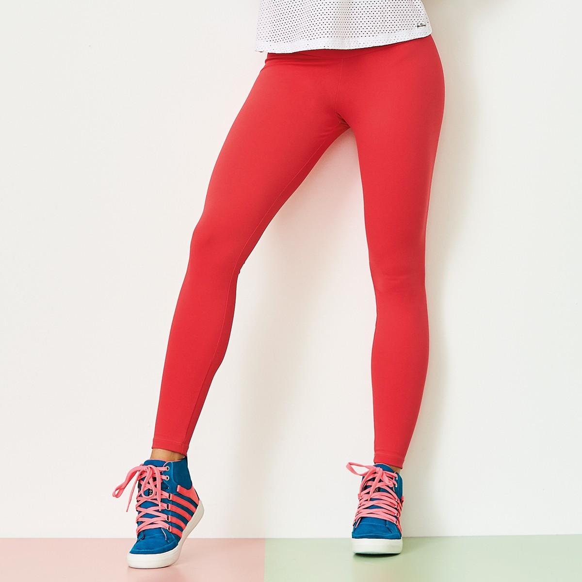 Legging Emana Basic Laranja CAJUBRASIL Activewear