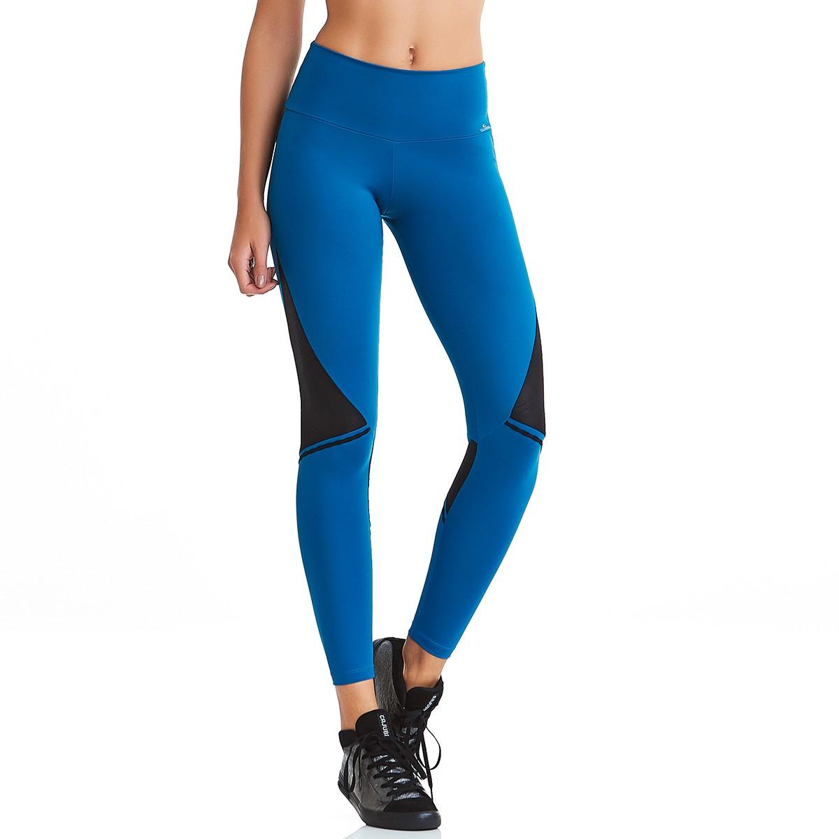 Legging Emana Urban Azul CAJUBRASIL Activewear