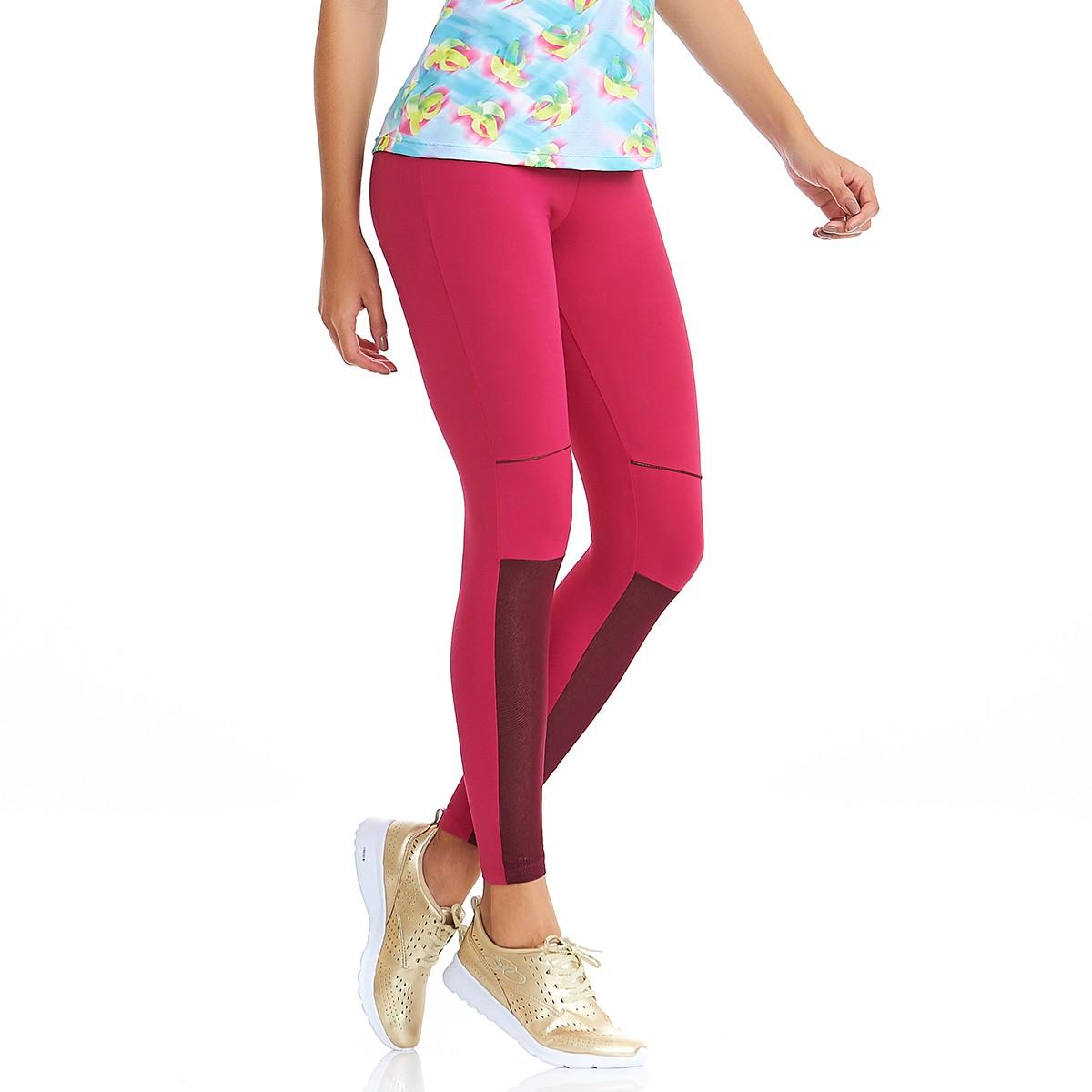 Legging NZ Move Rosa CAJUBRASIL Activewear
