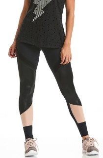 Legging NZ Determined Preta CAJUBRASIL Activewear