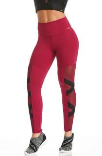 Legging NZ Create Bordô CAJUBRASIL Activewear