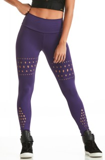 Legging NZ Strength Roxa CAJUBRASIL Activewear