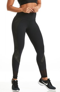 Legging Reflective Preta CAJUBRASIL Activewear
