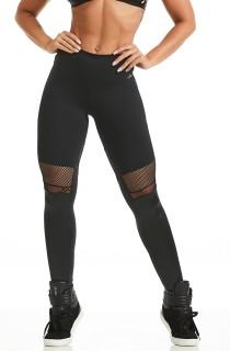 Legging Emana Hyper Preta CAJUBRASIL Activewear