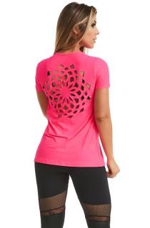 T-shirt Mandala Rosa CAJUBRASIL Activewear