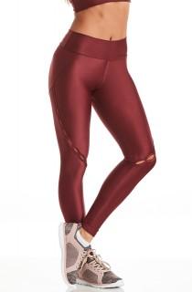 Legging Atletika Extreme Bordô CAJUBRASIL Activewear