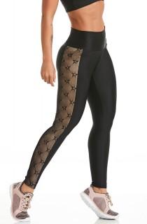 Legging Atletika Likes Preta CAJUBRASIL Activewear