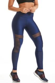 Legging Atletika Sensory Azul CAJUBRASIL Activewear