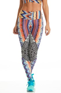 Legging Print Perfect Tribal CAJUBRASIL Activewear