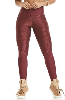 Legging Atletika Posh Bordo
