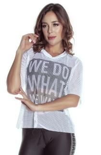 T-Shirt Want Branca