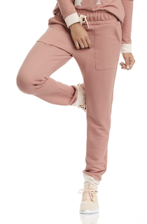 Calça Moletom Crush Rosa