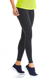 Legging Emana Basic Cinza CAJUBRASIL Activewear