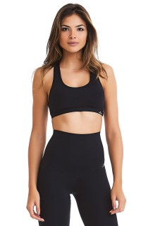 Top New Rock Basic Preto CAJUBRASIL Activewear