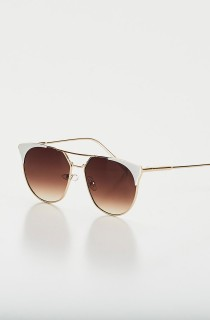 Óculos de Sol Pussycat Branco CAJUBRASIL Activewear
