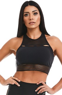 Cropped Style Preto CAJUBRASIL Activewear