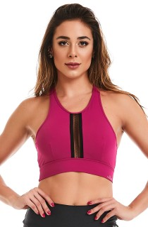 Top Rock Magic Rosa CAJUBRASIL Activewear