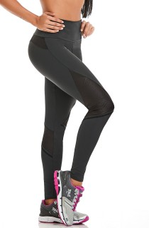 Legging Emana Urban Cinza CAJUBRASIL Activewear