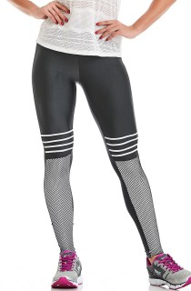 Legging Power Cinza CAJUBRASIL Activewear