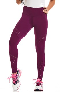 Legging Rock Hit Roxo CAJUBRASIL Activewear