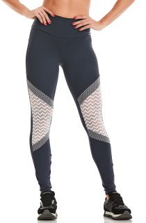 Legging NZ Beach Cinza CAJUBRASIL Activewear
