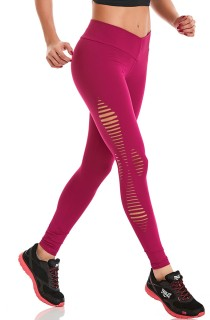 Legging Rock Jump Rosa CAJUBRASIL Activewear