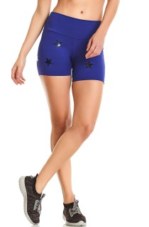 Short NZ Star Azul CAJUBRASIL Activewear