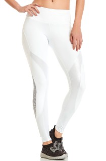 Legging NZ Mermaid Branca CAJUBRASIL Activewear