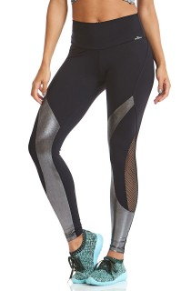 Legging NZ Mermaid Preta CAJUBRASIL Activewear