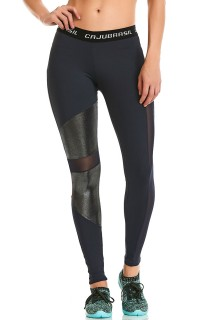 Legging NZ Glow Preta CAJUBRASIL Activewear