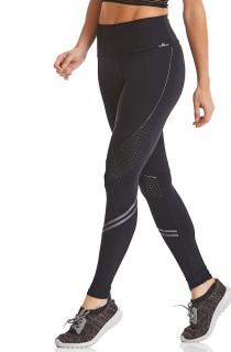 Legging NZ Seamaid Preta CAJUBRASIL Activewear