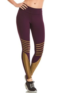 Legging NZ Shell Roxa CAJUBRASIL Activewear